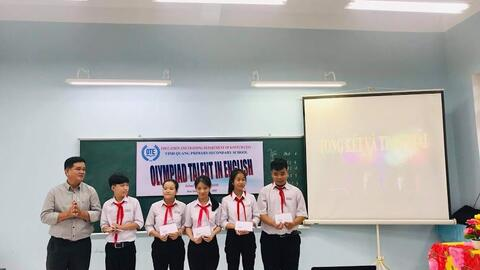 OLYMPIAD TALENT IN ENGLISH